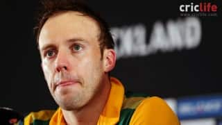AB de Villiers: We decided to go for length, hoping that Elliott will miss it and he played one of the best shot of his life