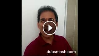 Dubsmash fever catches Harsha Bhogle as he steps into Ravi Shastri's shoes!