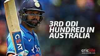 Rohit Sharma hits third ODI ton on Australian soil: Twitter Reactions