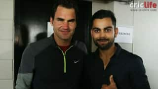 Virat Kohli-Yuvraj Singh catch the Federer-Djokovic clash live