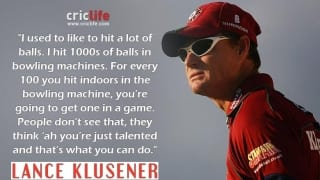Lance Klusener opens up on how he became a hard-hitting batsman