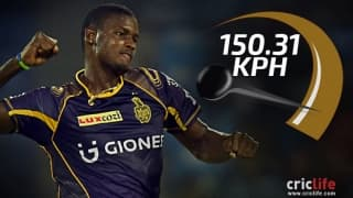 Top 10 fastest deliveries of IPL 2016