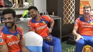 Video: 'Gujarat Lions' have fun behind the camera