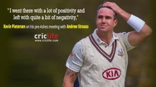 Kevin Pietersen opens up on Andrew Strauss' decision to leave him out from the Ashes squad