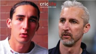 Jason Gillespie:  Ageing, but still strikingly good-looking