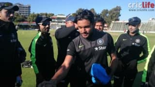 A dream come true for Manish Pandey