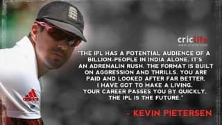 Pietersen hits out at the English commentators