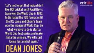 Test cricket needs World Cup, dominant Team India to survive, feels Dean Jones