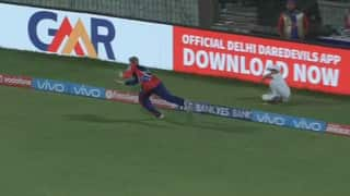 Video: Sam Billings takes a stunner to get rid of MS Dhoni