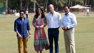 Photos: Sachin Tendulkar bonds with Prince William, Kate Middleton in Mumbai