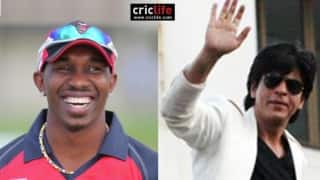 Dwayne Bravo thrilled by Shah Rukh Khan tweet