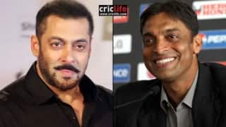 'Salman Khan should play my role if ever a biopic is made on my life', says Shoaib Akhtar