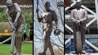 22 cricketers who are immortalised in statue at a cricket ground