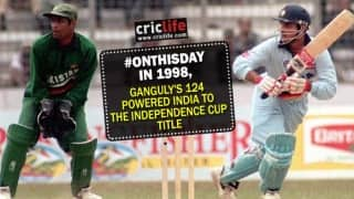 Video: When Sourav Ganguly inspired India to record the highest successful ODI run-chase
