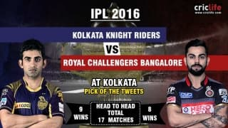 IPL 2016, Match 48, Pick of the tweets: Kolkata Knight Riders vs Royal Challengers Bangalore at Kolkata