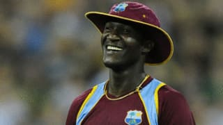 Why Darren Sammy can't stop laughing!