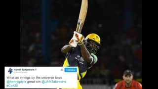 Kumar Sangakkara and others laud 'Universe Boss' Chris Gayle for his 18th T20 ton
