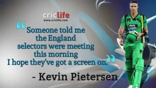 'Hope England selectors are watching,' says Kevin Pietersen