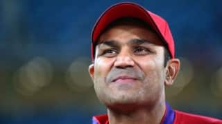 Hilarious: Virender Sehwag continues to entertain with his 'customary birthday wishes'