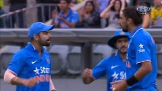 Video: Virat Kohli, Ishant Sharma exchange pleasantries after a near goof-up