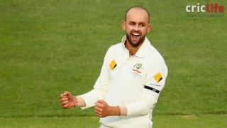 A unique feat for Nathan Lyon
