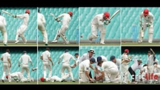 The blow that shook the cricket world!