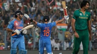 Facebook Wall: Team India defeats Pakistan yet again in a World Cup match