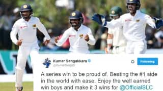 Wily Perera, mysterious Herath dismantle Australia to claim Test series: Twitter reactions