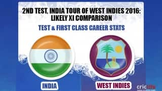 India tour of West Indies 2016, 2nd Test at Sabina Park: Likely XI comparison