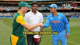 After handing the ICC Test mace for No. 1 side, South Africa handover 'Chokers' tag to Team India