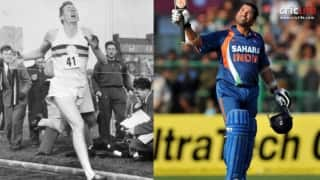 Why Sachin Tendulkar's 200 in ODIs is as big a barrier-breaking effort as Dr Roger Bannister's first sub-four minute mile run