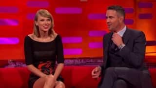 "Video: Kevin Pietersen, Taylor Swift discuss ""Chest Match"" in The Graham Norton Show"