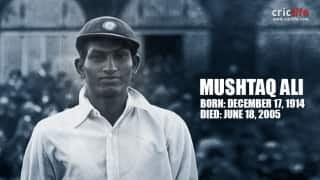 Mushtaq Ali: 14 facts you should know about India's first overseas Test centurion
