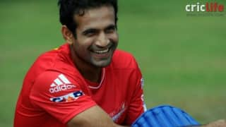 Irfan Pathan sings to unwind after hard day on the field