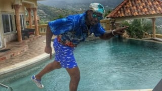 Video: Chris Gayle parties hard with the 'richest man' in Jamaica