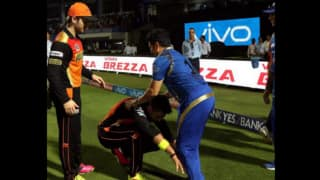 Yuvraj Singh does it again; touches feet of 'God of cricket' Sachin Tendulkar
