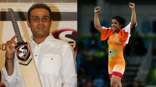 Hilarious: Sakshi Malik seeks appointment with Sehwag; gets reply in his trademark style