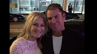 Shane Warne's 'just friend'