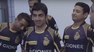 Video: Gautam Gambhir speaks about his family and much more fun from KKR dugout
