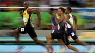 VIDEO: Sammy, Gayle, Bravo and others celebrate 'legend' Usain Bolt's gold win at Rio Olympics