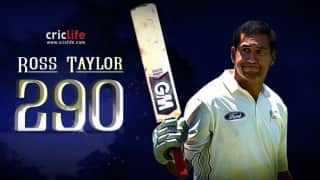 Ross Taylor's 290 at Perth and 11 interesting statistical milestones