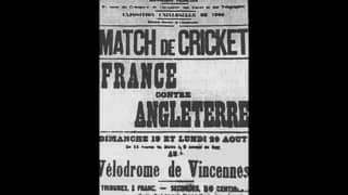 When cricket made its first and last appearance at Olympics