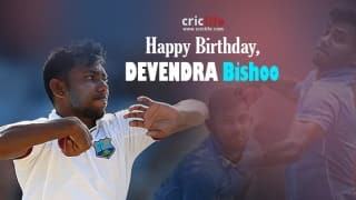 Devendra Bishoo: 8 interesting things about the West Indian leg-spinner