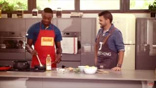 Kagiso Rabada tries his hand at cooking, rolls his arm in the kitchen