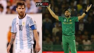 Twitterati take a dig at Shahid Afridi following Lionel Messi's retirement