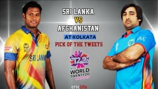 ICC World T20 2016, Super 10, Pick of the Tweets: Sri Lanka vs Afghanistan at Kolkata