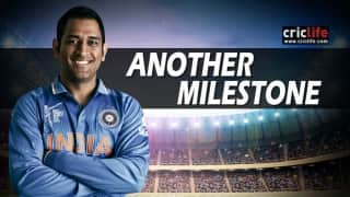 Infographic: MS Dhoni equals Ricky Ponting's tally of most international matches as captain