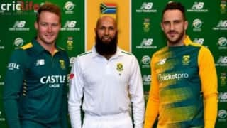 South Africa's new cricket jerseys unveiled