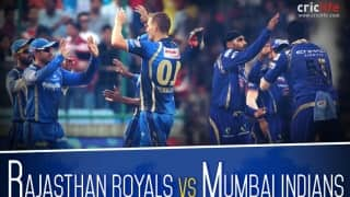 IPL 2015: Rajasthan Royals vs Mumbai Indians at Motera, pick of the tweets