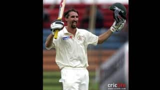 Jason Gillespie scores a double hundred, but is not picked again for his country
